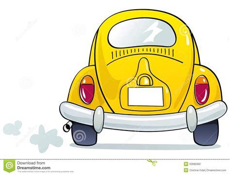 Back Of Car Cartoon Happyeasterfrom Com