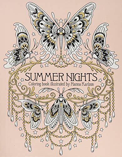 summer nights coloring book originally published in sweden as import it all