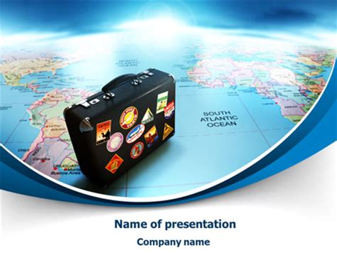 tourism powerpoint template international tourism presentation template for powerpoint and keynote ppt