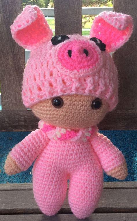 doll keepsakes big doll pigbaby gift or keepsake by