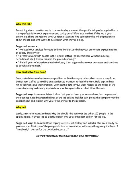 cover letter expression of interest template cover