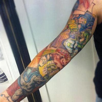 tattoo parlors in dc dc comics sleeve artist matt drury at and soul