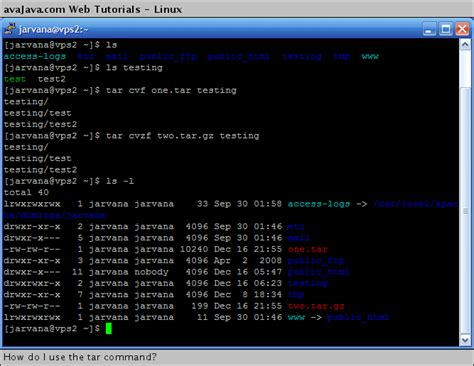 file format linux command how to compress file in linux tar gz