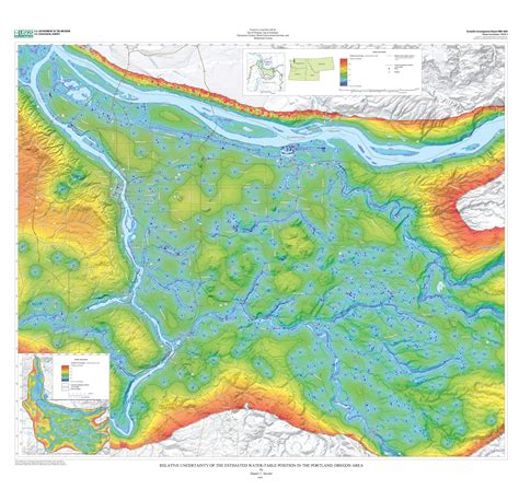 Water Table Map by Estimated Depth To Ground Water And Configuration Of The