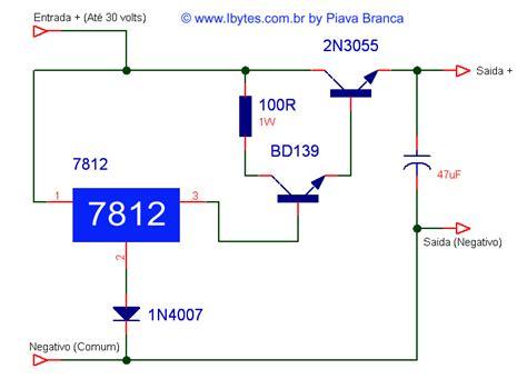 Trafo 10a O 6v 30v esquema eletr 244 nico para montar regulador de 30 volts para