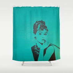 audrey hepburn shower curtain 1000 images about audrey on pinterest breakfast at
