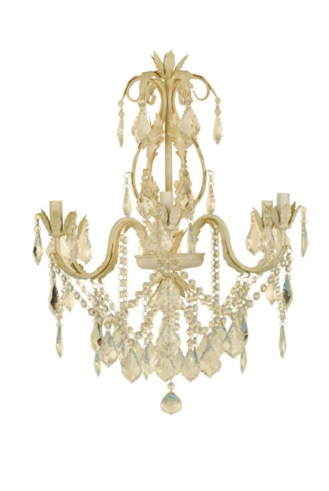White Antique Chandelier Hton Bay Heritage Antique White Chandelier The Home