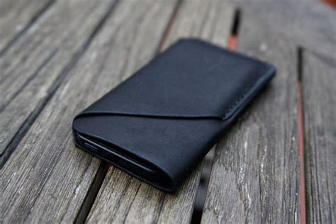 Handmade Leather Iphone - the handmade leather iphone 5 with card holder