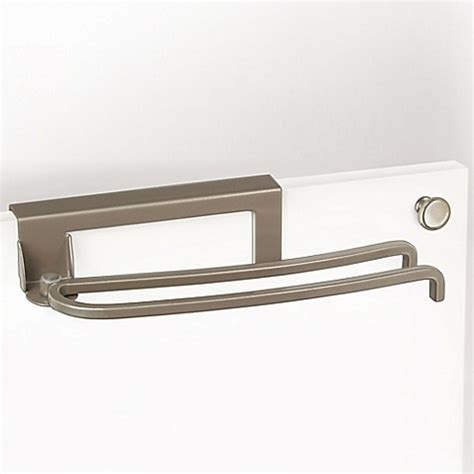 bed bath and beyond towel bars lynk over the door pivoting towel bar bed bath beyond