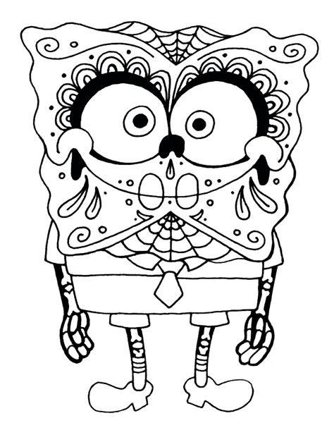 dia de los muertos coloring pages printable az coloring
