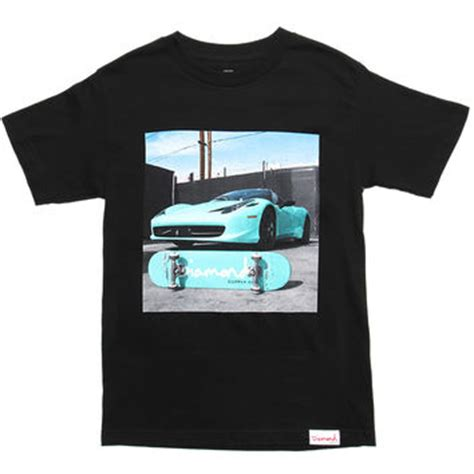 diamond supply co home decor diamond supply co ferrari t shirt from attic new arrivals