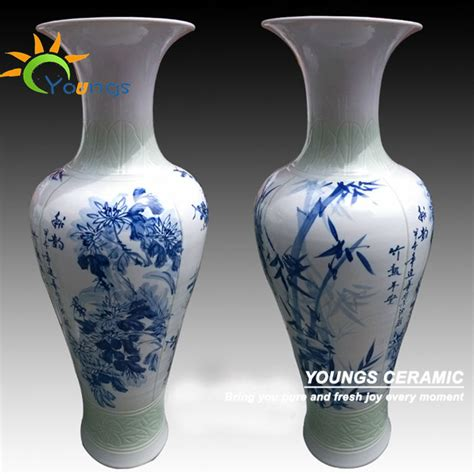 painted porcelain large outdoor vases also
