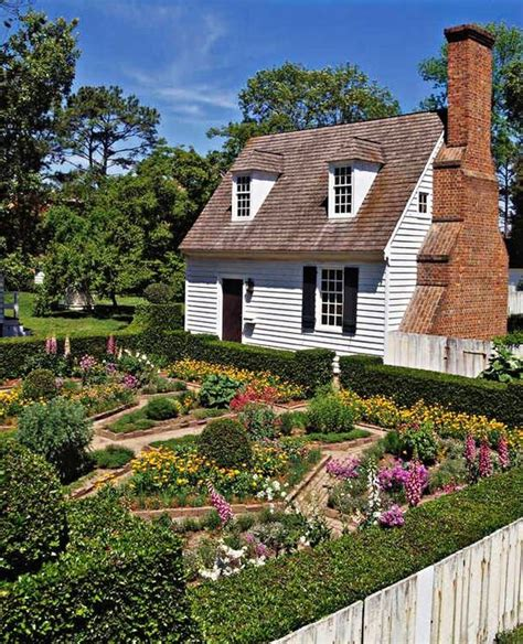 early american gardens place williamsburg gardens