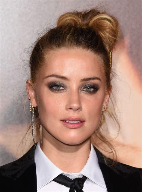 Amber Heard Beauty Looks   StyleBistro