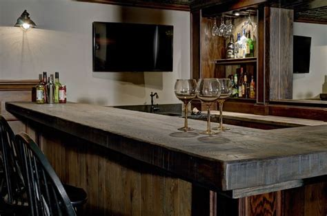 rough cut bar tops this bar top made of handsome rough cut lumber looks like