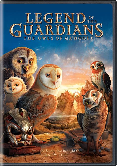 film cartoon owl legend of the guardians the owls of ga hoole dvd release