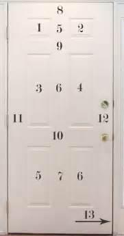 how to paint a six panel door wny handyman