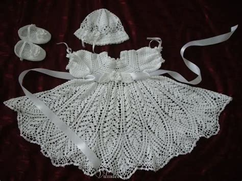 vestidos de tejido vestidos de ni 241 a tejidos en crochet imagui vestidos de