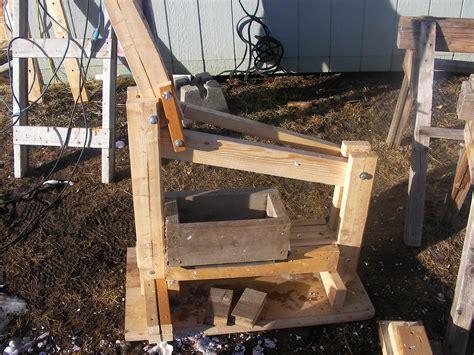Paper Brick Machine - diy papercrete brick press montana animal farm