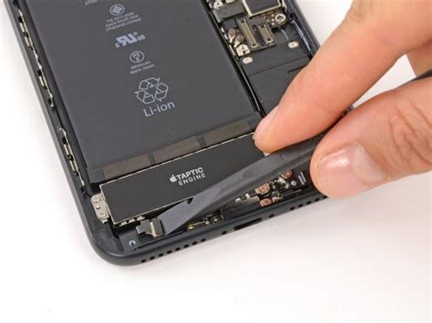 iphone 7 plus taptic engine replacement ifixit repair guide