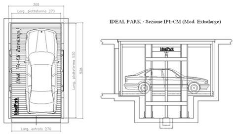 box auto dwg ideal park parcheggi meccanizzati ascensori auto dwg