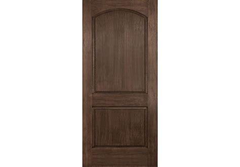 2 Panel Exterior Door Dra2d Linden Plastpro Rustic Two Panel Arch Top Door 1 3 4 Quot Fiberglass Doors
