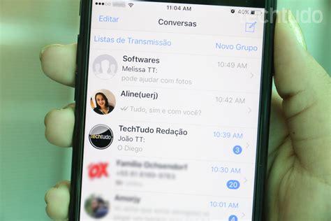 techtudo tutorial whatsapp como compartilhar v 225 rios contatos pelo whatsapp redes