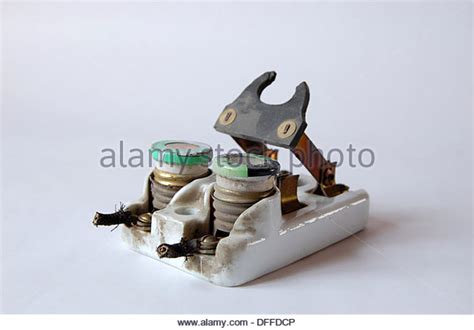 Old Fuses Fuse Box Stock Photos Amp Old Fuses Fuse Box Stock