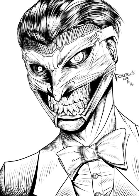 joker face coloring pages joker printable coloring pages