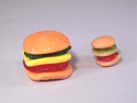 Yupi Marsmalow gummy yupi gummy mini hamburger pizza