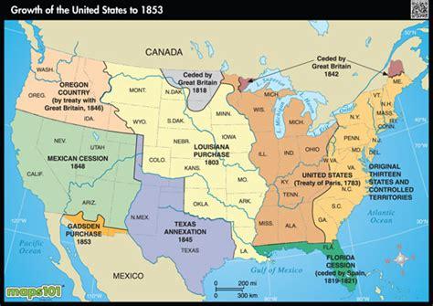 printable us expansion map u s history