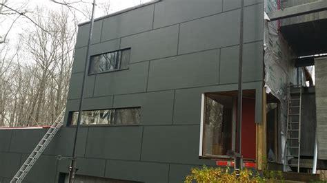hardie panel iron grey hardiepanel w fry reglet aluminum trim