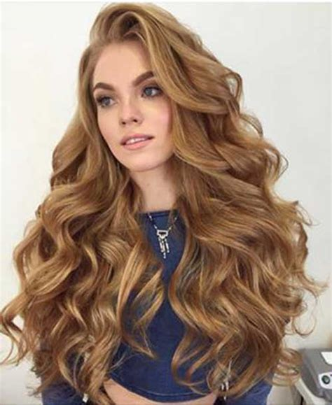 Big Curly Hairstyles by Stunning Big Curled Hairstyles Hairstyles 2017