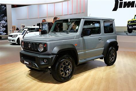 2019 Suzuki Suv by 2019 Suzuki Jimny Is Out For Suv Blood In