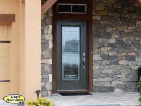 Glass Door In Front Of Front Door Saratoga Front Door Glass Insert In Fiberglass Front Door