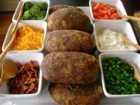 easy super bowl dinner baked potato bar houston press