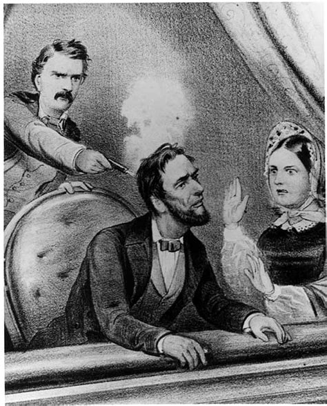shooting of abraham lincoln lincoln myths and misconceptions quiz answer 12 looking