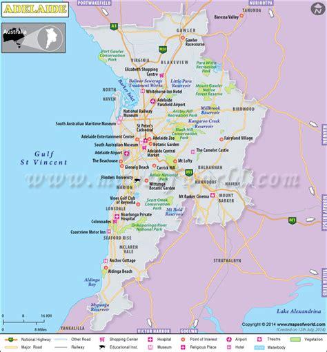printable map adelaide suburbs adelaide map map of adelaide city australia