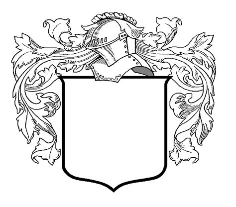 design free coat of arms cool coat of arms shield designs clipart best