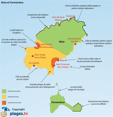 0004488962 carte touristique ibiza and infos sur carte ibiza plage en espagne arts et voyages