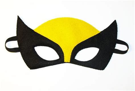 printable wolverine mask 87 best images about super hero theme on pinterest see