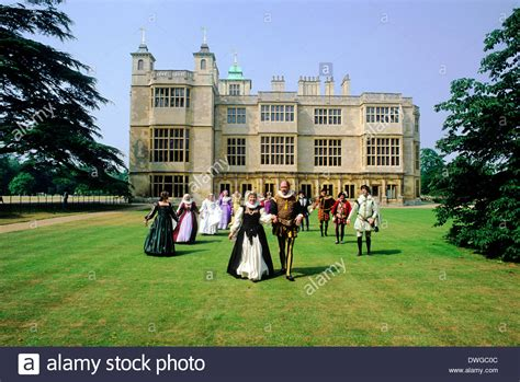 buy house essex audley end house essex 16th century costume dancers elizabethan stock photo