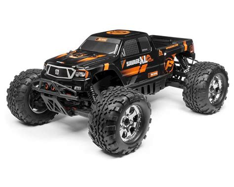 seattle monster truck savage xl flux rtr 1 8 4wd electric monster truck by hpi