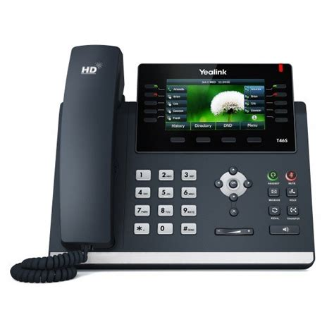 one talk t46g ip desk phone yealink t46s gigabit ip phone voip supply