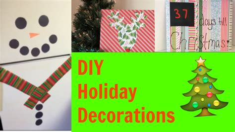 diy holiday decor easy christmas decorations for your