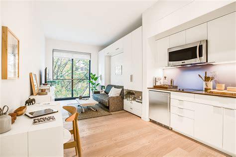 ny first micro apartments actually look kinda
