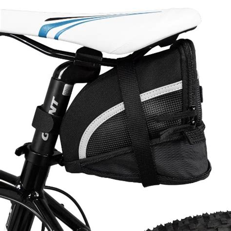 attach seat bike bag bv bicycle on saddle seat bag small black