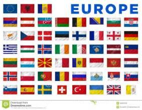 drapeaux de l europe illustration stock image 42364753