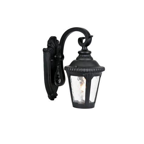 acclaim lighting surrey collection 1 light matte black