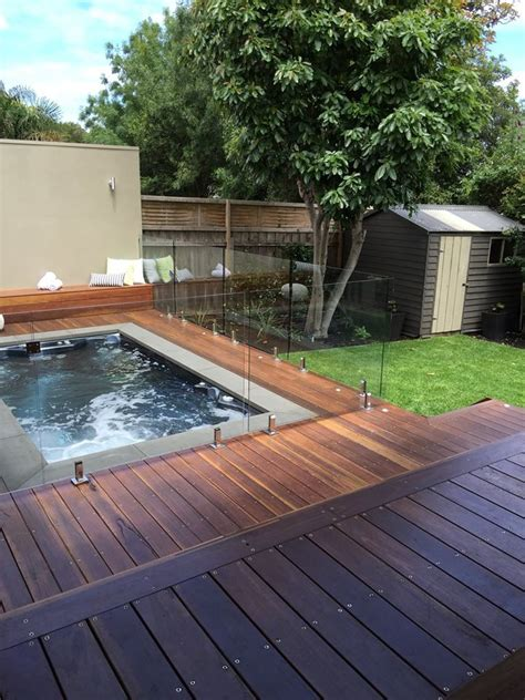 backyard inspo   raptor swim spa backyard inspo